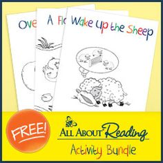 All About Reading Activity Bundle...try one of the best reading curriculums FREE
