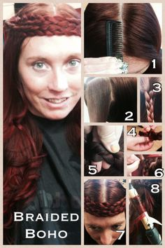 Whitney_Bass  #GOT #GameofThrones #festivalhair #hairtutorial #coachellahair #sexyhair #howto #DYI #Tutorial #Concerthair