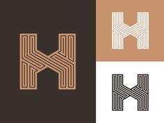 H - identity concept by Jeroen van Eerden