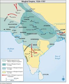 """Mughal Empire (search """"Mughal Empire"""", images, Facts on File, Mughal Empire) Modern World History, History Of India, Geography Map, India Map, Amazing India, Mughal Empire, Morning Dew, Prehistory, Ottoman Empire"""