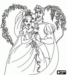 best the princess and the frog coloring pages