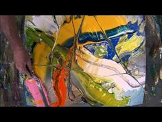 Learn To Paint an Acrylic Abstract Painting Ultra Thick 2 HD By Jan van Oort Acrylic Painting Tutorials, Painting Videos, Painting & Drawing, Art And Craft Videos, Learn To Paint, Art Techniques, Art Tutorials, Painting Inspiration, Les Oeuvres