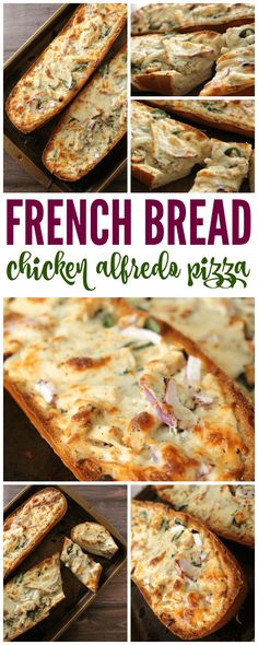 I have a DELICIOUS new recipe for you to try today! This great French Bread Chicken Alfredo Pizza Recipe is tasty and easy to make! This is the perfect french bread pizza that everyone will definitely love! via @Passion4Savings