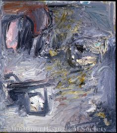 X1966.04.08, Road, 1956, Milton Resnick, oil on canvas
