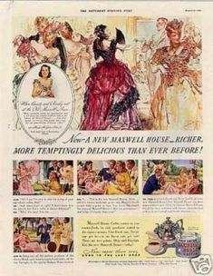 Maxwell House Coffee Color (1940)