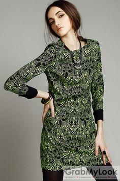 Diane von furstenberg abigail long wrap dress