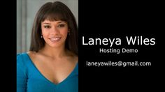 Laneya Wiles Host Reel  ActorIntro.com