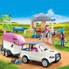 Check This Out! Playmobil Country SUV Horse Trailer And Table Set - Model 5667 (4 Years) #OnSale #Discount #Shopping #AddMe #FollowMe #BestPins