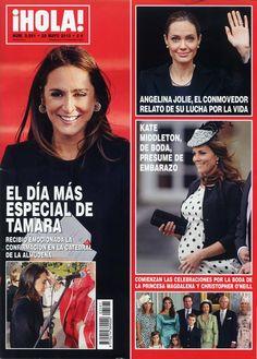 ¡HOLA! Nº 3591 22/05/13 #revistas #portadas #prensa #magazines