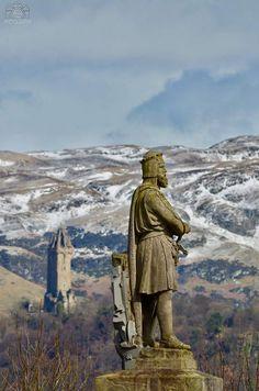 King Robert The Bruce. Stirling Castle.