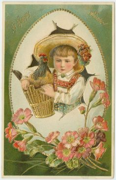 A happy Easter! (ca. 1900-)