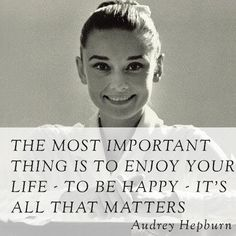 Wise Words from Audrey Hepburn