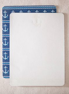 Anchor letter writing stationery  Anchor lettersheets, 12pk  $20.00