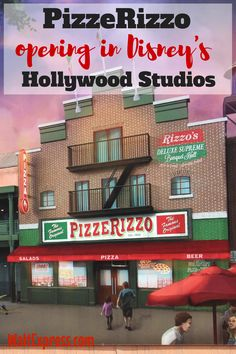Breaking News: PizzeRizzo opening in Disney's Hollywood Studios! Great food and great Pizza!
