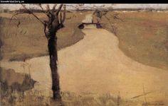 The Trees beside the Kerfi River, Piet Mondrian