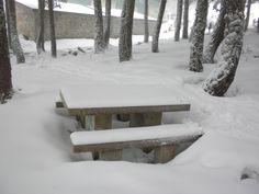Nieve en Manzaneda