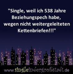 Es gibt viele Gründe warum man Single ist und das ist sicher einer davon…