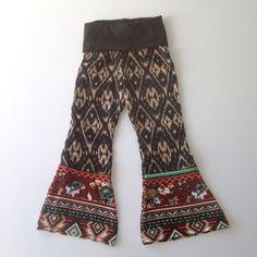 Girls Bellbottom pants indie style bell bottoms by GiaRoseDesigns