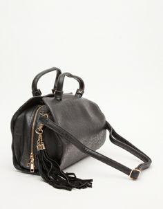 Seville Doctors Bag in Black