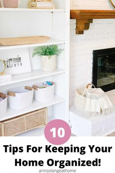 Here are 10 great tips to help you keep your home clean, tidy, and organized! Ideas for every area of your home. Cube Organizer, Hanging Organizer, Organizing For A Move, Organizing Life, Life Organization, Organisation Ideas, Built Ins, Girl Room, Cleaning Hacks