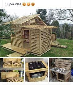 Shed, Outdoor Structures, Cabin, House Styles, Home Decor, Wood, Decoration Home, Room Decor, Cabins