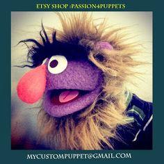 PASSION 4 PUPPETS : Wild man Custom puppet .. Get a custom puppet made...