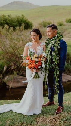 Hawaii Elopement, Hawaii Wedding, Boho Wedding, Wedding Flowers, Danish Wedding Cookies, Wedding Day Inspiration, Big Island Hawaii, Hawaiian Flowers, Island Weddings