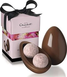 Best Egg for the Ladies Hotel Chocolat is one of our favourite chocolatiers Hotel Chocolate, Luxury Chocolate, Pink Chocolate, Chocolate Bark, Easter Chocolate, Chocolate Gifts, Chocolate Truffles, Egg Packaging, Dessert Packaging