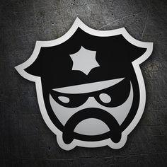 Pegatinas: Policeman JDM #coche #pegatina #sticker