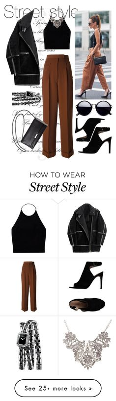 """Street Style"" by fashionoffarah on Polyvore featuring Wilfred, Jean-Paul Gaultier, Chanel, H&M and Tory Burch"