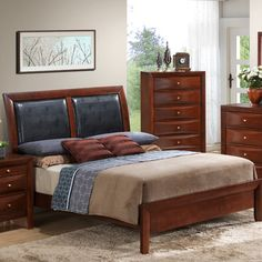 Found it at Wayfair - Gemini Sleigh Bed