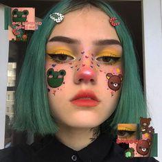 50 halloween makeup ideas you will love art and design 23 Edgy Makeup, Cute Makeup, Pretty Makeup, Makeup Inspo, Makeup Art, Makeup Inspiration, Hair Makeup, Makeup Drawing, Body Inspiration