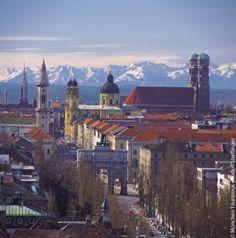 München 10 Gründe: Panorama Skyline
