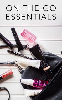 A full datebook calls for a perfectly packed purse. Grab these on-the-go beauty essentials before heading out for the day! | Mary Kay