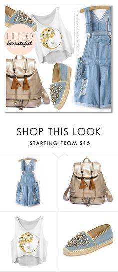 """""""#14"""" by aida-nurkovic ❤ liked on Polyvore featuring René Caovilla"""