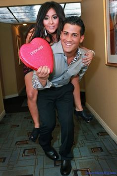 Snooki & Jionni.  They're so cute together and Jionni is SO hot!