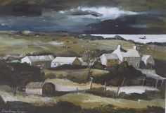 John Knapp-Fisher (1931-2015) Welsh (ARR), Tregynnon Farm, signed and numbered 39/250 in pencil, print, 54 x 73.5cm. Hammer price £600