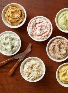 It's so easy to make homemade, flavored butter: Just add in your favorite herbs and spices! Here are four savory butter recipes to start you off.