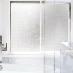 Hufnagel Window Stickers, Bathtub, Windows, Etched Glass, Stickers, Ideas, Standing Bath, Bathtubs, Bath Tube