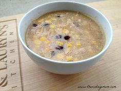 Beer and Black Bean Chicken Corn Chowder {Recipe} - The Vintage Mom