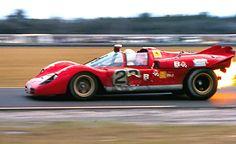 Tony Adamowicz, 1971 Daytona, Ferrari 512S