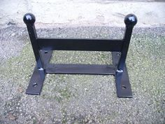 Wrought Iron Forged Steel Boot Scraper by CKMETALCRAFT on Etsy
