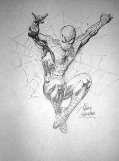 Spiderman by Rags Morales Comic Art