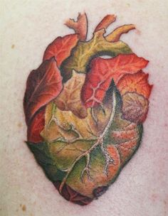 Leaf heart I would something like this.
