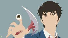 Shinichi Izumi Migi Parasyte Kiseijuu Anime Minimalist Jeffersonls 1920x1080