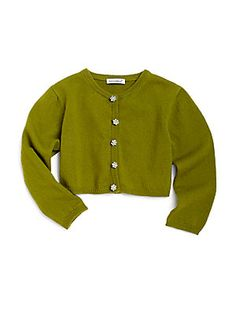Dolce & Gabbana Toddler's & Little Girl's Embellished Cashmere Cardigan