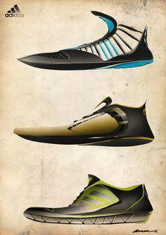 Adidas footwear on Behance