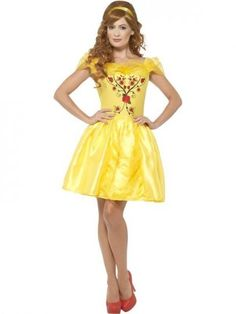 Yellow fancy dress outfits