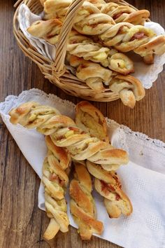 Frustine con patate e prosciutto cotto affumicato. | Tempodicottura.it