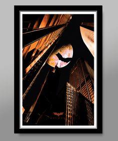 Batman Minimalist Movie Poster - Edition 3 - 13 X 19 Home Decor
